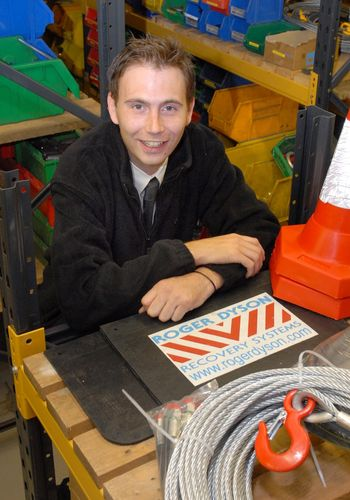 Passionate about parts�?� that's Alex Mills, of Roger Dyson Group -Roger Dyson plays its parts to keep customers on the road