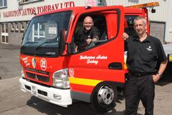 Torbay firm takes the plunge with Roger Dyson