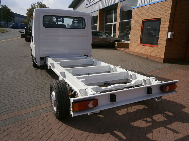 Fiat ducato cab chassis