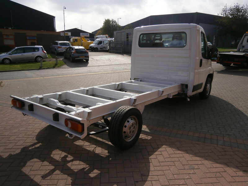 New In Stock Fiat Ducato Chassis Cab Vehicle