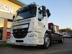 NEW DAF ACCIDENT UNIT FOR STORTMILL GARAGE