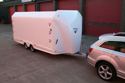 -Covered Trailer
