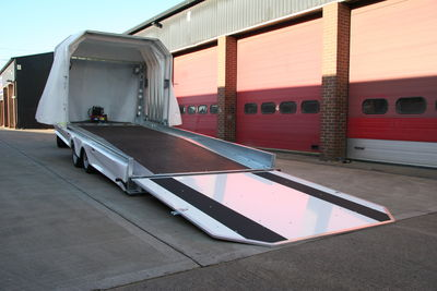 -Dual Vehicle Trailer