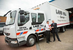 Prestige delivery for Lambhill Garage